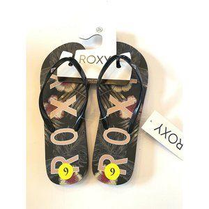 ROXY Women's Starfish V Flip Flop Sandals Size 9